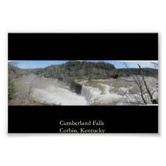 Cumberland Falls Corbin Kentucky Poster