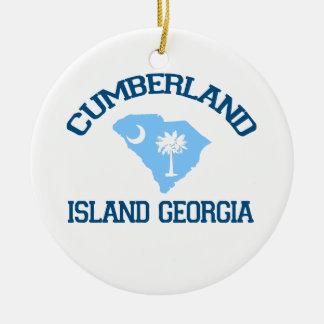 Cumberland Island Georgia Christmas Ornament