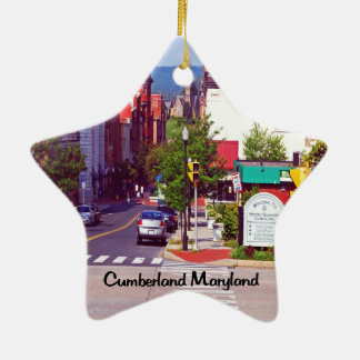 Cumberland Maryland Christmas Ornament