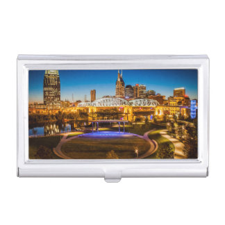 Cumberland Park With Shelby Street Walking Business Card Holder