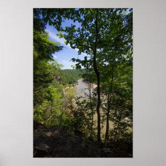 Cumberland River Overlook, Kentucky Poster