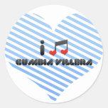 Cumbia Villera Round Stickers