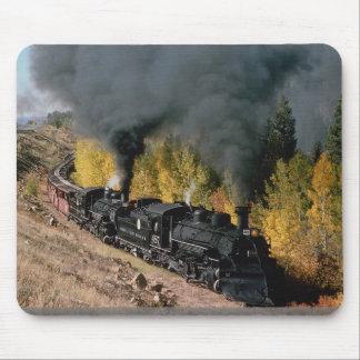 Cumbres and Toltec Railroad, No. 487 and No. 484m, Mouse Pad