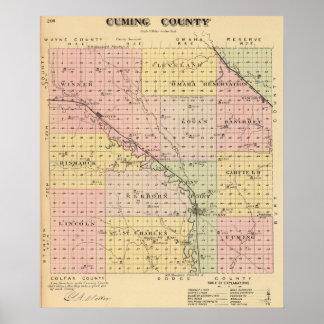 Cuming County, Nebraska Poster