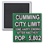 Cumming Georgia Funny City Limit Sign