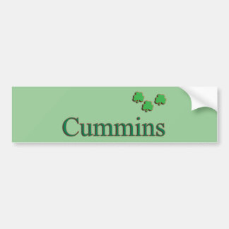 Cummins Bumper Sticker