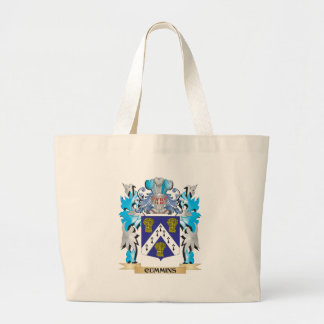 Cummins Coat of Arms - Family Crest Tote Bags