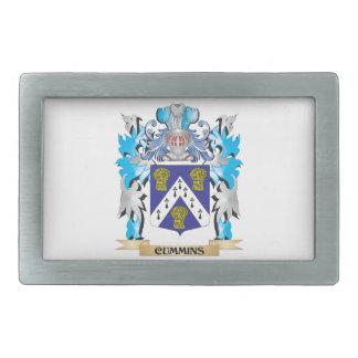 Cummins Coat of Arms - Family Crest Belt Buckles