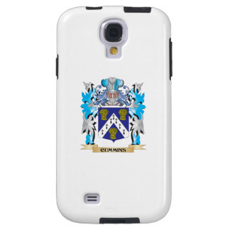 Cummins Coat of Arms - Family Crest Galaxy S4 Case
