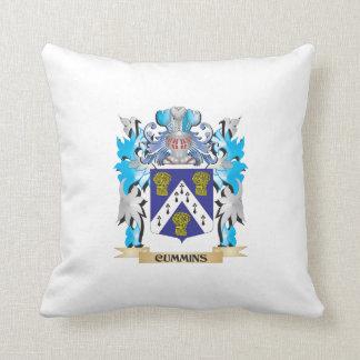 Cummins Coat of Arms - Family Crest Pillows