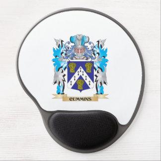 Cummins Coat of Arms - Family Crest Gel Mouse Mat