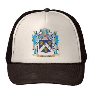 Cummins Coat of Arms - Family Crest Mesh Hat