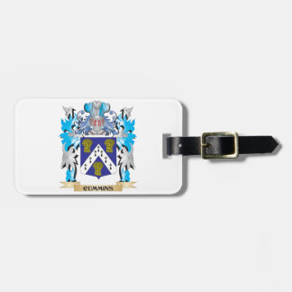 Cummins Coat of Arms - Family Crest Bag Tags