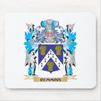 Cummins Coat of Arms - Family Crest Mouse Pads