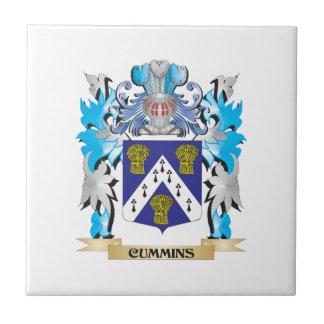 Cummins Coat of Arms - Family Crest Tiles