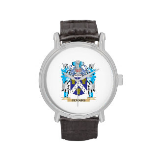 Cummins Coat of Arms - Family Crest Wristwatches