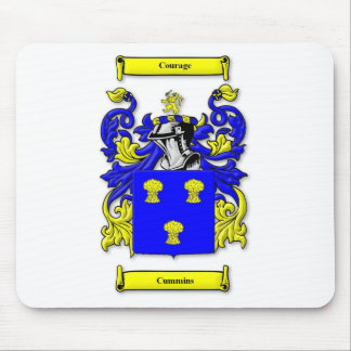 Cummins Coat of Arms Mouse Pads