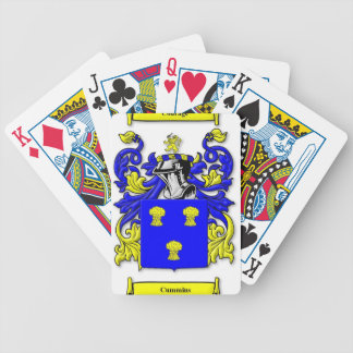 Cummins Coat of Arms Playing Cards