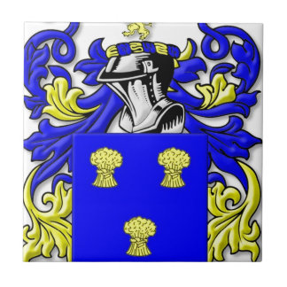 Cummins Coat of Arms Small Square Tile