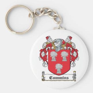 Cummins Family Crest Keychains