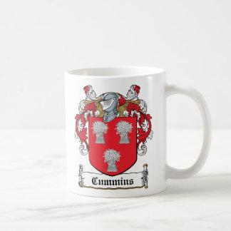 Cummins Family Crest Coffee Mugs