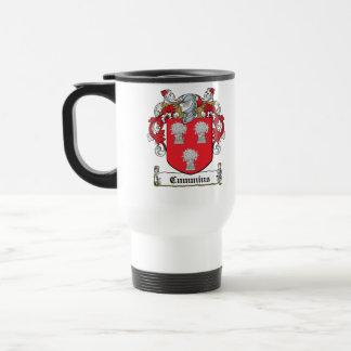 Cummins Family Crest Mugs