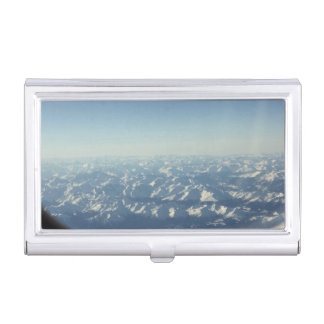 Cumulonimbus  from plane window business card holder
