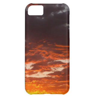 Cumulus Clouds At Sunrise. Fremont River Valley iPhone 5C Case