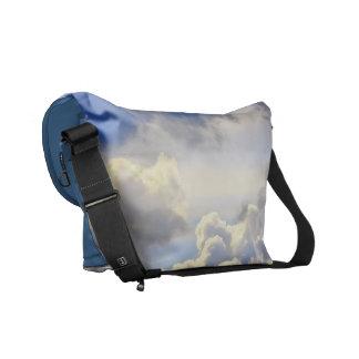 Cumulus storm. courier bag