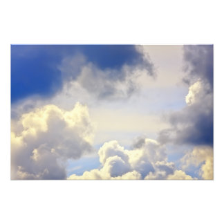 Cumulus storm. photo