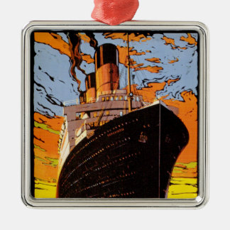 Cunard Europe-America Christmas Ornament