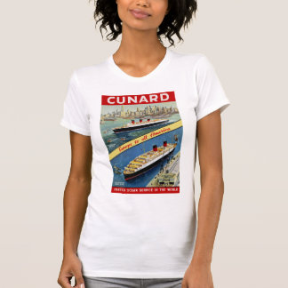 Cunard Europe to all America T-Shirt