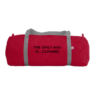 CunardCritic Duffle Bag. Gym Bag