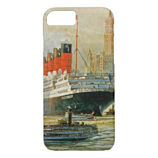 Cunarder at New York iPhone 7 Case
