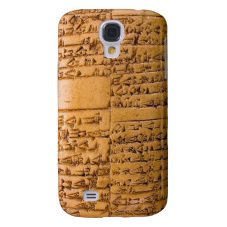 Cuneiform Tablet Samsung Galaxy S4 Cover