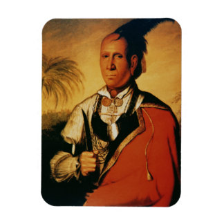 Cunne-Shote (c.1715-1810) 1762 (oil on canvas) Rectangular Photo Magnet