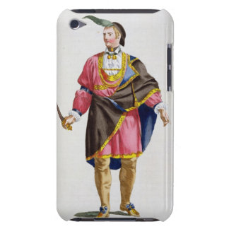 Cunne Shote, Chief of the Cherokees, 1780 (coloure Barely There iPod Covers