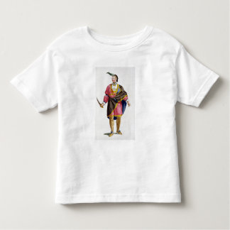 Cunne Shote, Chief of the Cherokees, 1780 (coloure Toddler T-Shirt