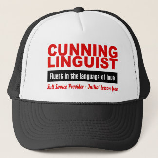 Cunning Linguist hat - choose color