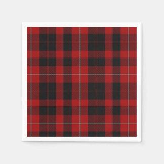 Cunningham Clan Tartan Plaid Paper Napkins