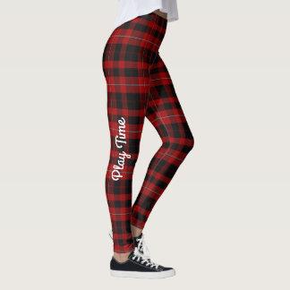 Cunningham Custom Tartan Plaid Leggings