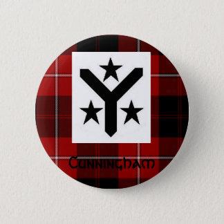 Cunningham Modern Tartan Button