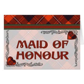 Cunningham Scottish Tartan Greeting Card