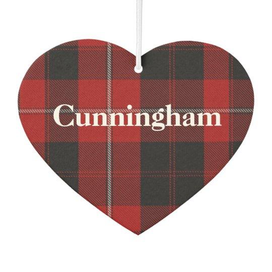 Cunningham Tartan Plaid Air Freshener