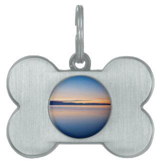 Cunski beach and coastline, Losinj Island, Croatia Pet Name Tags