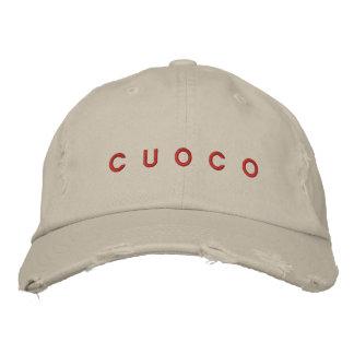 """CUOCO"" = ITALIAN FOR CHEF"" HAT BASEBALL CAP"