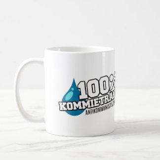 "Cup: ""100% Kommietränen "" Coffee Mug"
