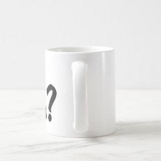 Cup Asking For Tea Basic White Mug