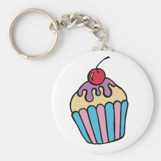 Cup Cake Key Ring