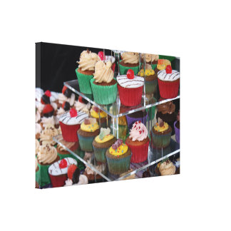 Cup cakes gallery wrapped canvas